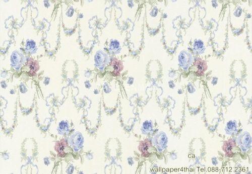 วอลเปเปอร์ลายดอกไม้คลาสสิค-963864