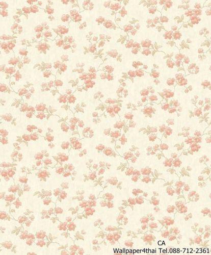 วอลเปเปอร์ลายดอกไม้วินเทจ-PS-05-02-6
