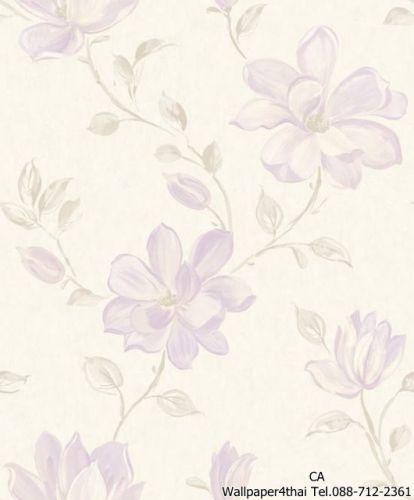 วอลเปเปอร์ลายดอกไม้วินเทจ-PS-06-01-6