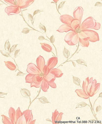 วอลเปเปอร์ลายดอกไม้วินเทจ-PS-06-02-5