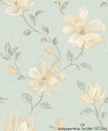 วอลเปเปอร์ลายดอกไม้วินเทจ-PS-06-04-3