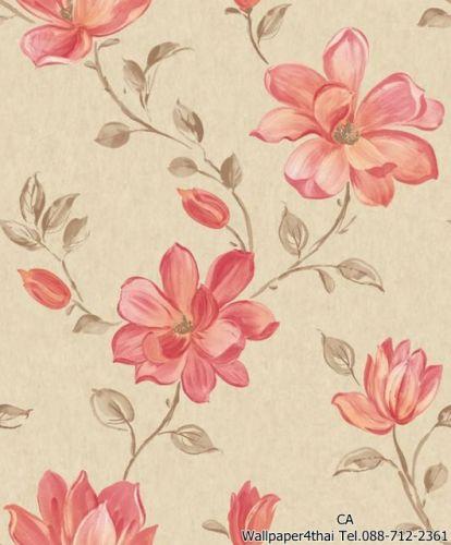 วอลเปเปอร์ลายดอกไม้วินเทจ-PS-06-06-1