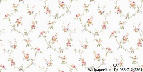 วอลเปเปอร์ลายดอกไม้วินเทจ-9803-1