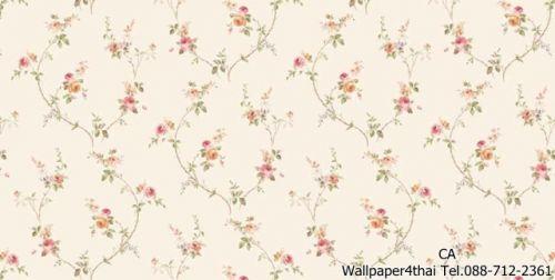 วอลเปเปอร์ลายดอกไม้วินเทจ-9803-2