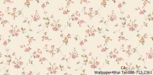 วอลเปเปอร์ลายดอกไม้วินเทจ-9804-2
