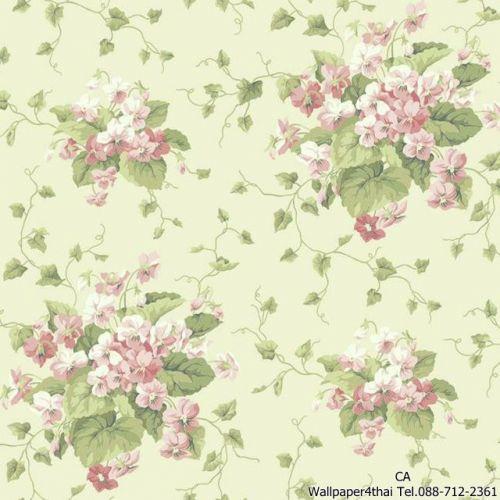 วอลเปเปอร์ลายดอกไม้วินเทจ-ER8100