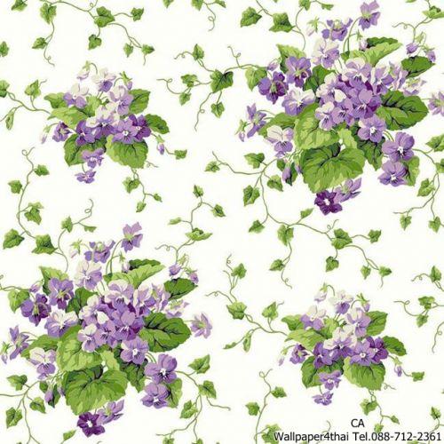 วอลเปเปอร์ลายดอกไม้วินเทจ-ER8102