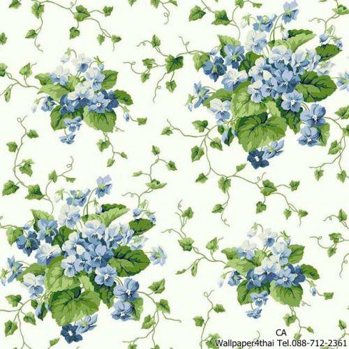 วอลเปเปอร์ลายดอกไม้วินเทจ-ER8103