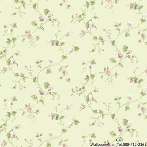 วอลเปเปอร์ลายดอกไม้วินเทจ-ER8108