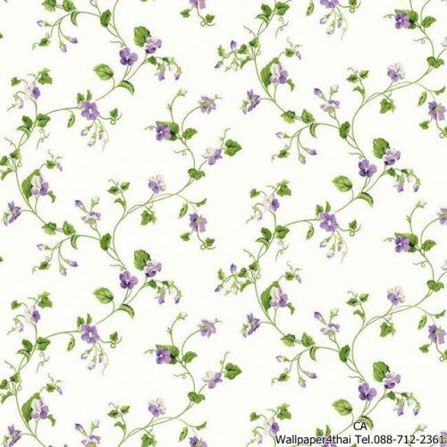 วอลเปเปอร์ลายดอกไม้วินเทจ-ER8110