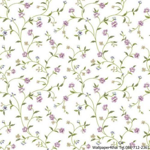 วอลเปเปอร์ลายดอกไม้วินเทจ-ER8187