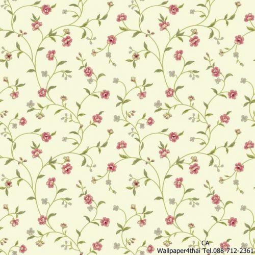 วอลเปเปอร์ลายดอกไม้วินเทจ-ER8189