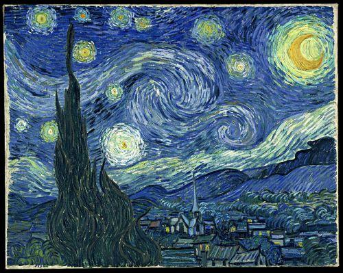 ภาพวาด ราตรีประดับดาว