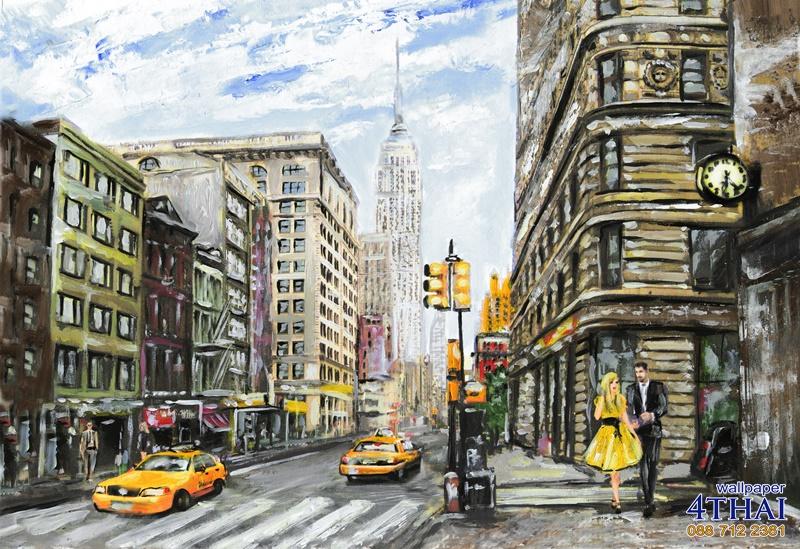 ภาพวาดนิวยอร์ค
