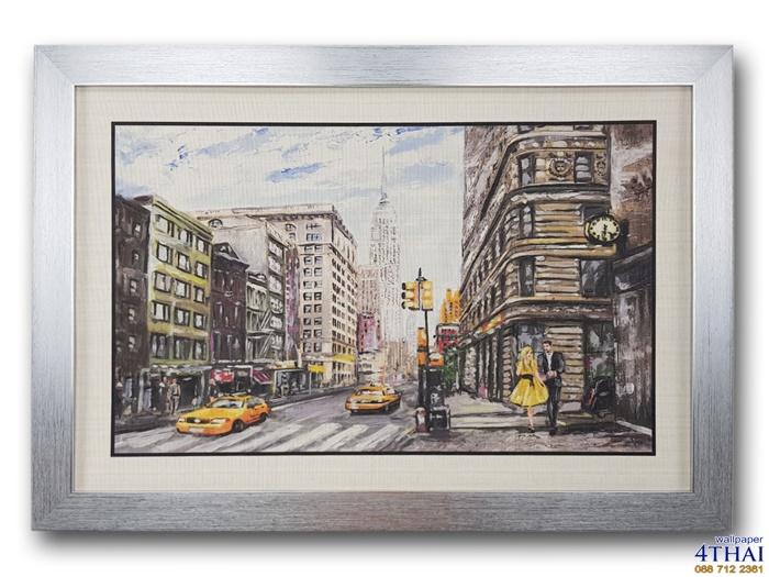 ภาพวาดเมืองนิวยอร์ค