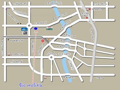 แผนที่ ซีเอเคอร์เท่น map cacertain