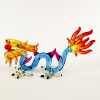 Hand Blown Glass Dragon Colorful 1
