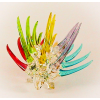 Hand Blown Glass Colorful Porcupine 1