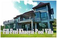 ฟิล ฟีล แอท เขาใหญ่ พูลวิลล่า : Fill Feel at Khaoyai Pool Villa