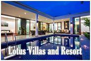 โลตัสวิลล่า แอนด์ รีสอร์ท หัวหิน : Lotus Villas and Resort HuaHin