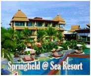 สปริงฟิลด์แอทซี รีสอร์ทแอนด์สปา ชะอำ : Springfield@Sea Resort and Spa Chaam