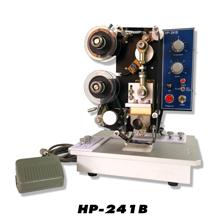 เครื่องพิมพ์วันที่ผลิตวันหมดอายุ กึ่งอัตโนมัติ HP-241B
