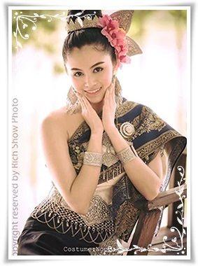 เช่าชุดไทย ชุดนานาชาติ ชุดAEC ชุดประจำชาติลาว